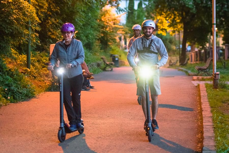 ture cu trotineta - Bikexplore